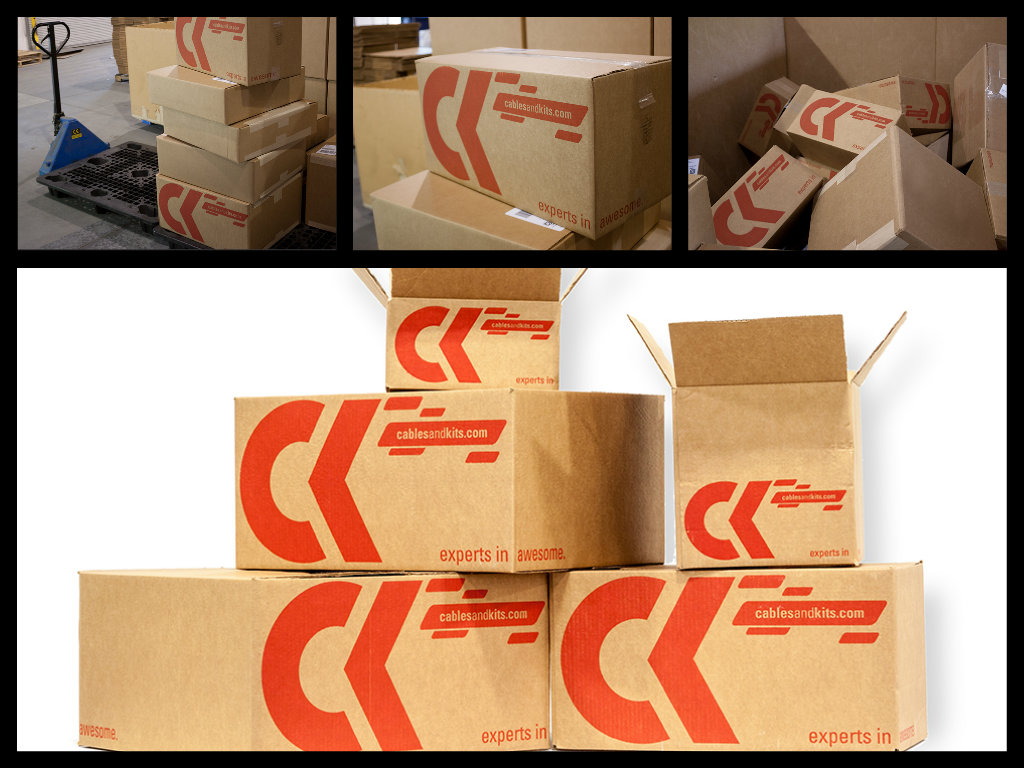New CK Shipping Boxes