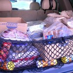 All of the food for the meal project