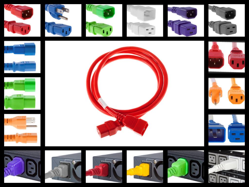Colored Power Cables - CablesAndKits Blog