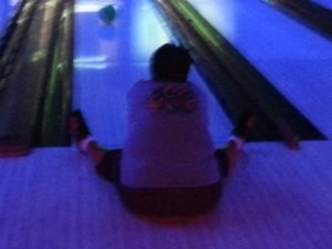 Sit down bowling - Julie
