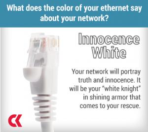 Ethernet - White - Innocence