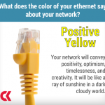 Ethernet - Yellow - Positivity