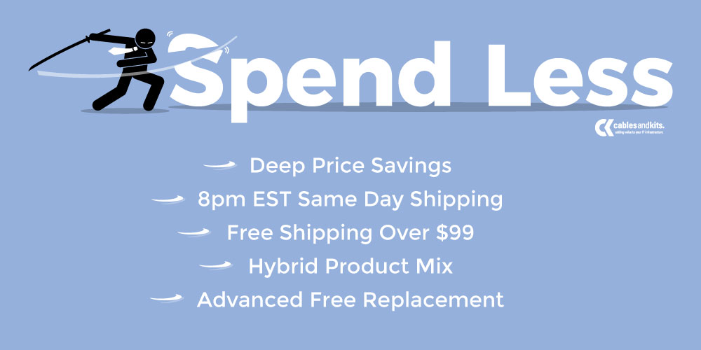 Spend Less on IT equipment and accessories