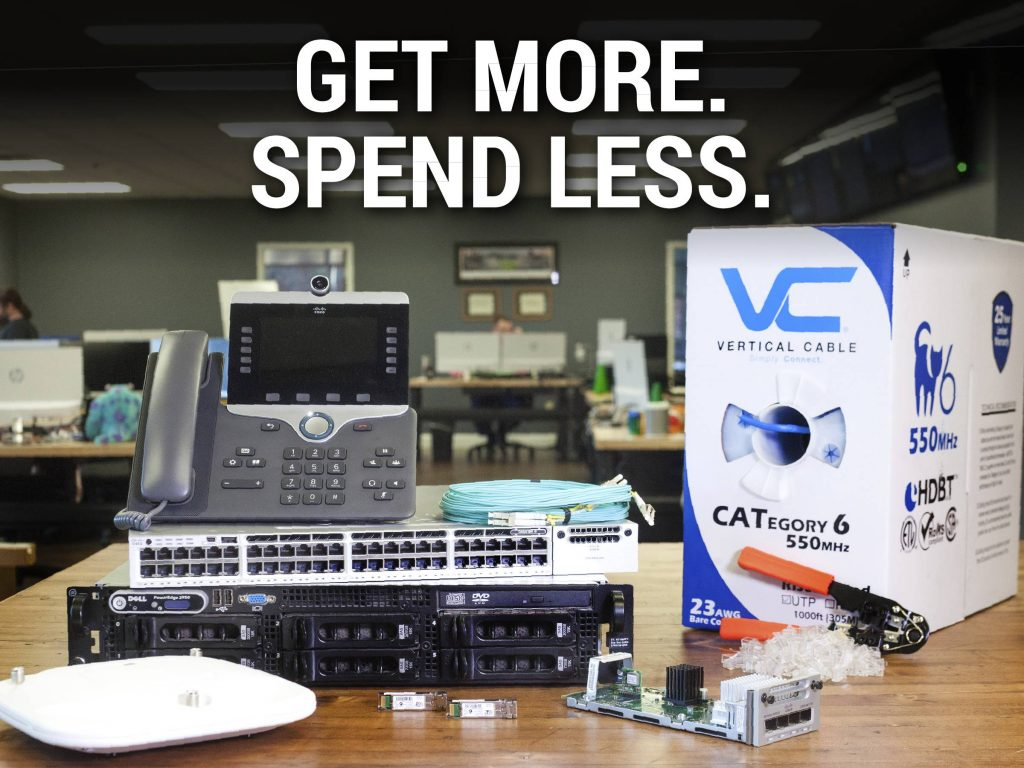 Get More. Spend Less. Partners In IT Procurement