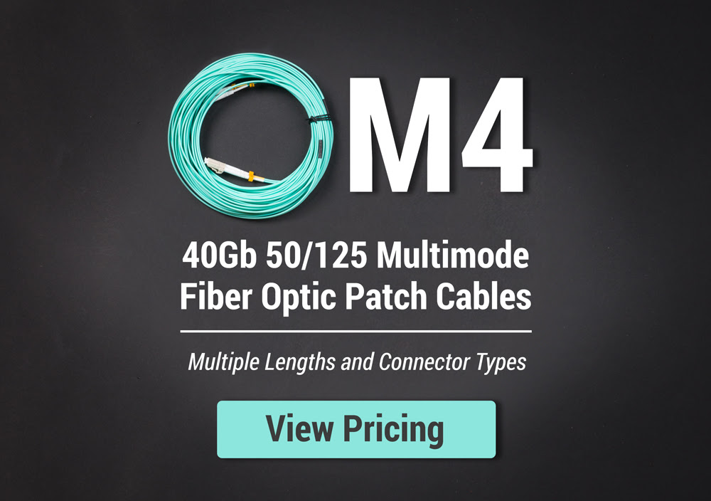 om4 40gb fiber cabling